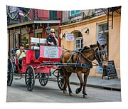 New Orleans - Carriage Ride Tapestry