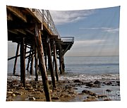 New Photographic Art Print For Sale Paradise Cove  Tapestry