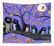Night Owls Tapestry