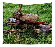 Old Farm Implement H B Tapestry