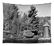 Old Forge Lighhouse Tapestry