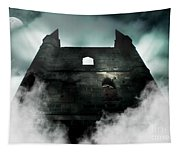 Old Haunted Castle Tapestry