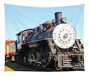 Old Steam Engine  Tapestry