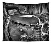 Old Truck Tapestry