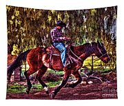 On The Ranch Tapestry