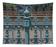 Ornate Fence Tapestry