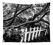 Overflowing A Picket Fence Tapestry