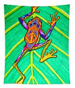 Peace Frog Tapestry