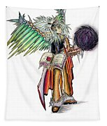Pelusis God Of Law And Order Tapestry by Shawn Dall