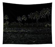 Pencil - Water Rippling In The Coastal Lagoon Tapestry