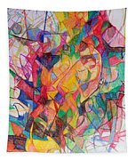 Perpetual Encounter With Providence 6 Tapestry