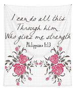 Philippians 4 13 Tapestry