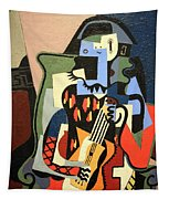 Picasso's Harlequin Musician Tapestry