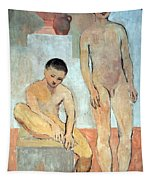 Picasso's Two Youths Tapestry