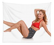 Pinup Girl Tapestry