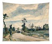 Pissarro Louveciennes Tapestry