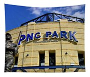 Pnc Park Baseball Stadium Pittsburgh Pennsylvania Tapestry