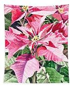 Poinsettia Tapestry