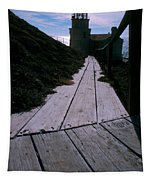 Point Conception Lighthouse Tapestry