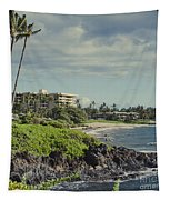 Polo Beach Wailea Point Maui Hawaii Tapestry