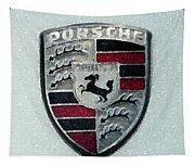 Porsche Emblem  Tapestry