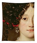Portrait Of A Woman Tapestry