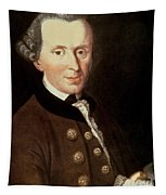 Portrait Of Emmanuel Kant Tapestry