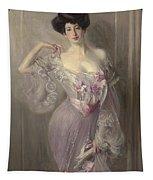 Portrait Of Ena Wertheimer Tapestry
