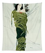 Portrait Of Ida Lvovna Rubinstein Tapestry