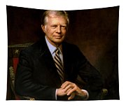 President Jimmy Carter Painting Tapestry