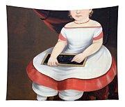 Prior Hamblin School's Little Girl With Slate Tapestry