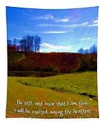 Psalm 46 10 Tapestry