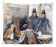 Puritan Tavern Inspection Tapestry