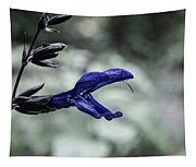 Purple Sage Blossom Tapestry