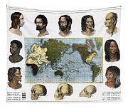 Racial Types, 19th Century Tapestry