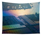 Rainbow Earth 3. Somewhere Over Netherlands Tapestry