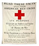 Red Cross Poster, 1917 Tapestry