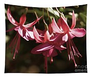 Red Fuchsia Tapestry