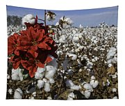 Red In The Cotton  Tapestry