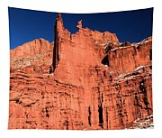 Red Rock Fisher Towers Tapestry