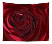Red Rose Abstract 2 Tapestry