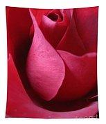 Red Rose Macro 5 Tapestry