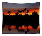 Red Skies  Tapestry