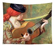 Renoir's Young Spanish Woman With A Guitar Tapestry