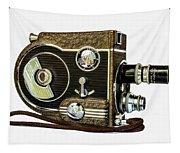 Revere 8 Movie Camera Tapestry