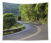 Road To Hana Tapestry