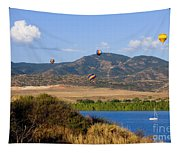 Rocky Mountain Balloon Festival Tapestry