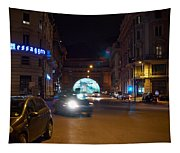 Rome By Night Tapestry