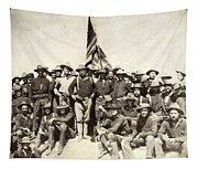 Roosevelt & Rough Riders Tapestry