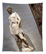 Rossellino's The David Of The Casa Martelli Tapestry
